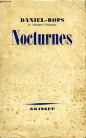 Nocturnes. - Couverture - Format classique