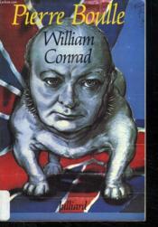 William Conrad. - Couverture - Format classique