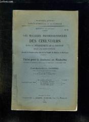 Faculte De Medecine Et De Pharmacie N° 73 Annee 1934 - 1935. Les Maladies Professionnelles Des Cimentiers Dans Le Departement De La Gironde Enquete Personnelle. - Couverture - Format classique