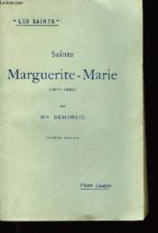 Sainte Marguerite-Marie (1647 - 1690) - Couverture - Format classique