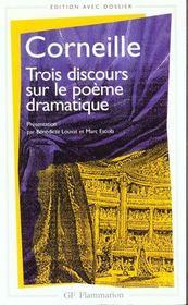 Trois discours sur le poème dramatique - Intérieur - Format classique