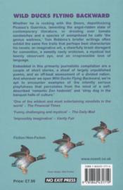 Wild Ducks Flying Backward - 4ème de couverture - Format classique