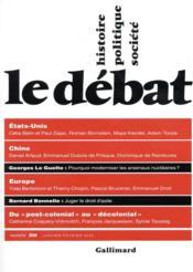 Revue Le Débat N.208 ; le débat - Couverture - Format classique