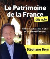 Le patrimoine de la France pour les nuls - Couverture - Format classique