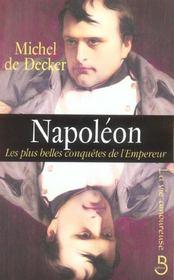 Napoléon ; les plus belles conquêtes de l'Empereur - Intérieur - Format classique