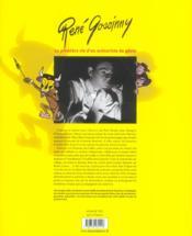 Rene goscinny, la premiere vie d'un scenariste de genie - 4ème de couverture - Format classique