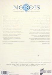 Revue Norois T.197 - 4ème de couverture - Format classique
