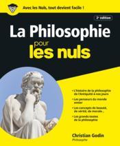 La philosophie pour les nuls (2e édition) - Couverture - Format classique
