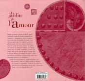 Le Jardin De L'Amour Et Autres Jardins Imaginaires - 4ème de couverture - Format classique