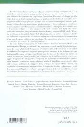 Revoltes Et Revolutions De 1773 A 1802 ; Europe, Asie, Ameriques - 4ème de couverture - Format classique