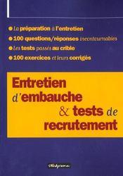 Entretien D'Embauche - Intérieur - Format classique