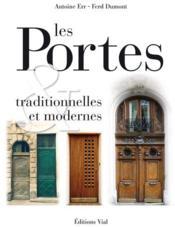 Les portes traditionnelles et modernes ; portes d'Europe - Couverture - Format classique