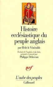 Histoire ecclésiastique du peuple anglais - Couverture - Format classique