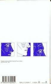 Capitale de la douleur ; l'amour la poésie - 4ème de couverture - Format classique