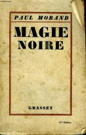 Magie Noire. - Couverture - Format classique