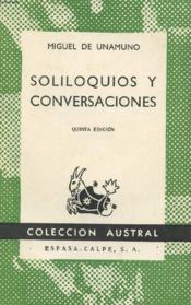 Soliloquios Y Conversaciones, Colección Austral, N° 286 - Couverture - Format classique