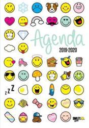 Smileyworld ; agenda emoticones (édition 2019/2020) - Couverture - Format classique