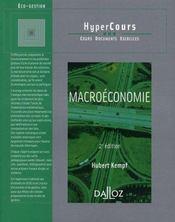 Macroéconomie (2e édition) - Intérieur - Format classique