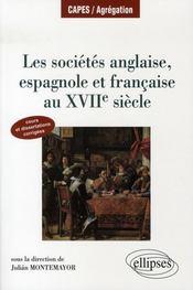 Les sociétés anglaise, espagnole, française au XVII siècle - Intérieur - Format classique