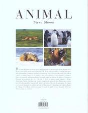 Animal - 4ème de couverture - Format classique