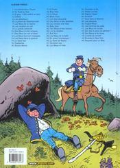 Les tuniques bleues t.46 ; requiem pour un bleu - 4ème de couverture - Format classique