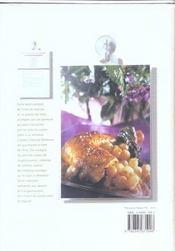 Ma boîte de recettes - La volaille - 4ème de couverture - Format classique