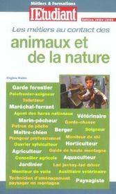 Les méetiers et formations au contact des animaux et de la nature - Intérieur - Format classique