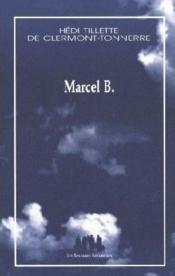 Marcel B. - Couverture - Format classique