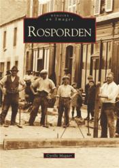 Rosporden - Couverture - Format classique