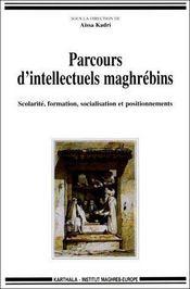 Parcours d'intellectuels maghrebins - Couverture - Format classique