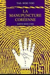 La Manupuncture Coreenne - Couverture - Format classique