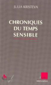 Chroniques Du Temps Sensible - Couverture - Format classique