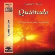 Quietude - livre audio - Couverture - Format classique