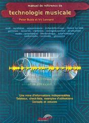 Manuel de référence de technologie musicale - Couverture - Format classique
