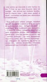 Un amour de verrines - 4ème de couverture - Format classique