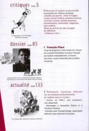 La Revue Des Livres Pour Enfants N.254 ; François Place - 4ème de couverture - Format classique