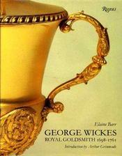 George Wickes (1698-1761), royal goldsmith. - Intérieur - Format classique