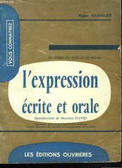 Au Temps Du Stylo Et Du Micro... L'Expression Ecrite Et Orale. - Couverture - Format classique