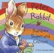 Peter rabbit seedlings: uk rainbow shapes and colours - Couverture - Format classique