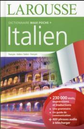 Maxi poche plus dictionnaire Larousse ; français-italien / italien-français (édition 2016) - Couverture - Format classique