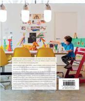 Chambres d'enfants ; des idées futées ; des solutions astucieuses et originales pour les familles d'aujourd'hui - 4ème de couverture - Format classique