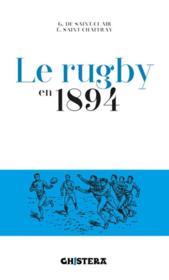 Le rugby en 1894 - Couverture - Format classique