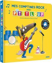 Mes comptines rock avec P'tit Loup - Couverture - Format classique