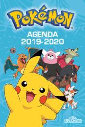 Pokémon ; agenda (édition 2019/2020) - Couverture - Format classique