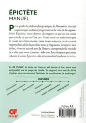 Manuel - 4ème de couverture - Format classique