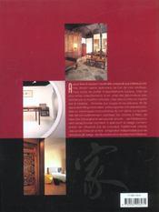 Décors de Chine - 4ème de couverture - Format classique