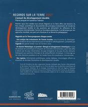 Regards sur la terre 2007 ; l'annuel du développement durable ; énergie et changements climatiques - 4ème de couverture - Format classique