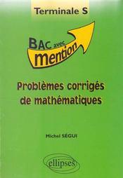 Problemes Corriges De Mathematiques Terminale S - Intérieur - Format classique