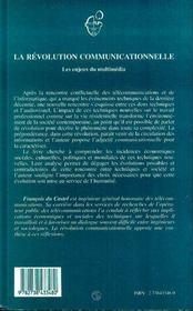 La Revolution Communicationnelle ; Les Enjeux Du Multimedia - 4ème de couverture - Format classique