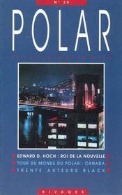 Revue Polar Numero 20 - Intérieur - Format classique